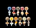 Original Gourmet Cream Swirl 31gr Lollipop