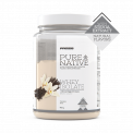 Natural Pure Native Whey Isolate 900g Vanilla