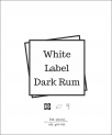 White Label  Dark Rum (organic)