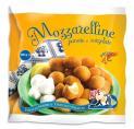 Small Mozzarella Balls in Breadcrumbs