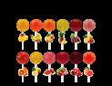 Sweetly Naturals 31gr Lollipops