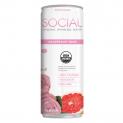 SOCIAL Organic Sparkling Water | Grapefruit Rose