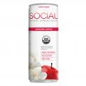SOCIAL Organic Sparkling Water | Jasmine Apple