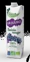 "Organic NFC Red Grape Juice 100 % from Occitania ""Les fées Bio"" 1L"