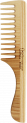 COMB WITH WIDE TEETH AND HANDLE
