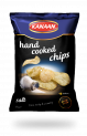 Hand cooked chips salted