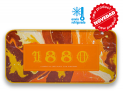 11165 - 70% Dark Chocolate Almond Bar Sinestesia Tin 1880 250g
