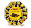J61311 - Several Flavors Chocolate Bombons Plastic Octogonal Doña Jimena 150g