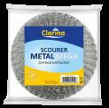 metal scourer, plastic scrubber