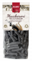 Maccheroni with cuttlefish ink