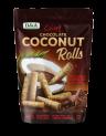 Crispy Chocolate Coconut Rolls