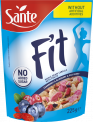 Fit breakfast cereals with cranberry blueberry and goji berry