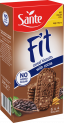 FIT cereal biscuits with no added sugar, cocoa flavour