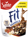 FIT granola nuts and cocoa