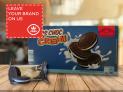 Cocoa Biscuit Vanilla Cream (30% filling)