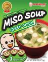 FD Instant Miso Soup 3PK Green Onion