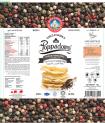 Canister Poppadoms (Lentil Chips) - Black Pepper