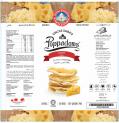 Canister Poppadoms (Lentil Chips) - Cheese