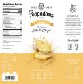 Private Label Stacked Lentil Chips - FDA compliant label - Original