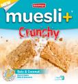 Muesli+ Crunchy granola bar - Coconut