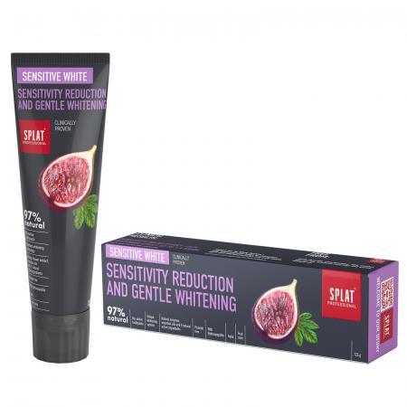 SPLAT PROFESSIONAL Sensitive White Toothpaste, Fluoride Free   needl.
